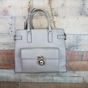 Michael Kors Emma North South Leather tote